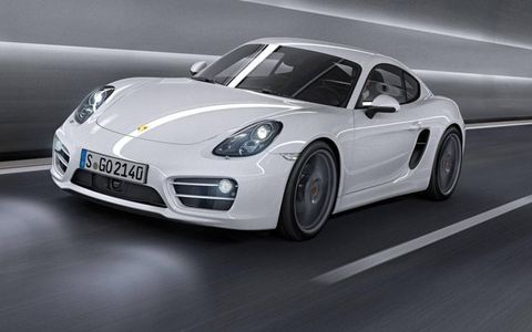 The second-generation Porsche Cayman, revealed to the public at the LA Auto Show, is both lighter and larger than its predecessor.