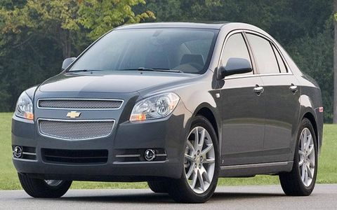 Chevrolet Malibu, a 2008 North American Car of the Year finalist.