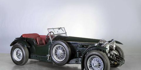 Looking very much the part of the classic British roadster, this 1931 Invicta S-Type low-chassic tourer sold at the December Bonhams auction for $752,500.