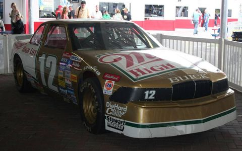 Bobby Allison drove the No. 12 in the NASCAR Cup Series in the mid 70s. Allison won the Daytona 500 three times and was inducted into the NASCAR Hall of Fame in 2011.
