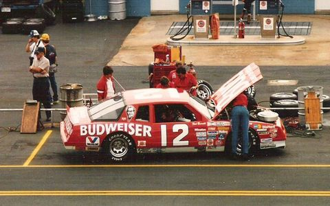 Neil Bonnett drove the No. 12 Budweiser car in the NASCAR Cup Series. Bonnett is considered one of the greatest drivers in NASCAR history. He won 18 races before being involved in a fatal crash during a practices session for the 1994 Daytona 500.