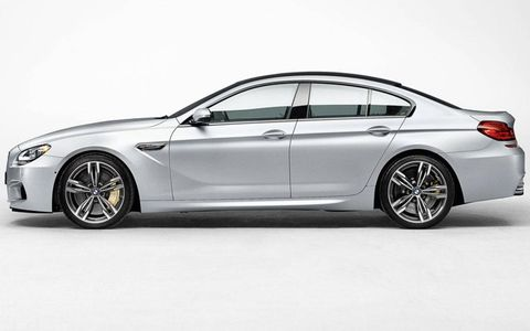 The BMW M6 Gran Coupe goes on sale in summer 2013.
