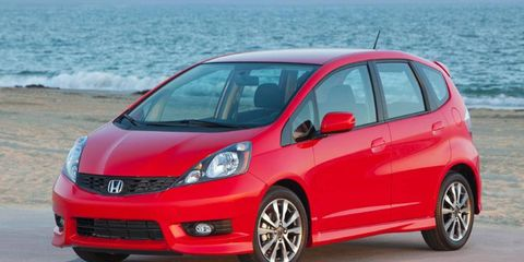 Honda is building a new plant in Mexico to produce the next-generation Fit. The current model is shown.