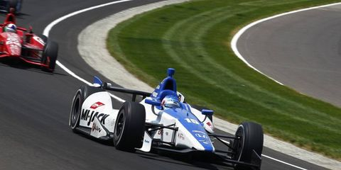 Takuma Sato is speaking with A.J. Foyt Racing, but nothing has been confirmed about his future in 2013.