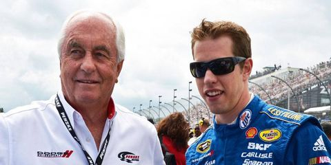 Roger Penske, left, and Brad Keselowski came out on top in the 2012 NASCAR Sprint Cup Series Chase for the Championship.