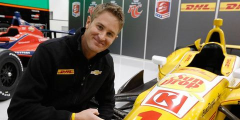 IndyCar Series champion Ryan Hunter-Reay earned the right to use the No. 1 based on his 2012 championship.