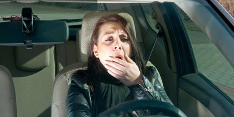 Research suggest 250,000 drivers per day fall asleep at the wheel.