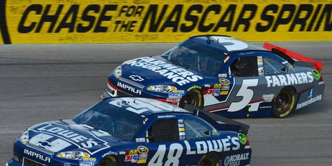 A Los Angeles man has been sentenced in a NASCAR merchandise scam.
