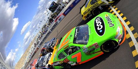 Where does Danica Patrick fall on the list of NASCAR's biggest babies?
