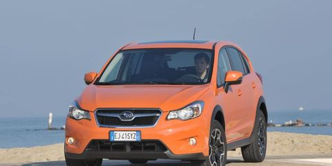 The cabin is exactly the same as the Impreza's, which is a good thing as Subaru went to great lengths to up quality with soft-touch surfaces on all major touch points.