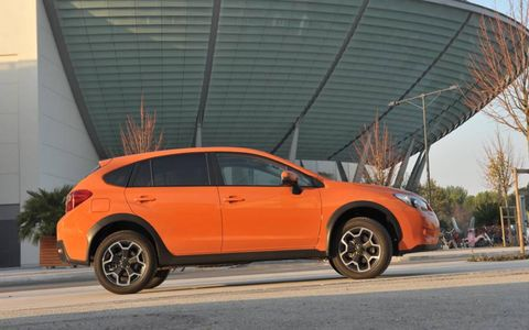 The XV has 22.5 cubic feet of cargo space behind the rear seats, which grows to 52.4 with the rear seats folded down