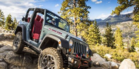 Enter to win this 2013 Jeep Wranger Rubicon 10th anniversary edition on Jeep's Facebook page.