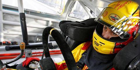 Penske Racing driver Joey Logano is part of a NASCAR boom in social media circles.