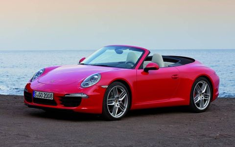 It takes only 13 seconds for the Porsche 911 Carrera Cabriolet to drop its top.