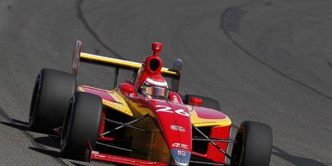 Tristan Vautier won the Indy Lights championship with Sam Schmidt.