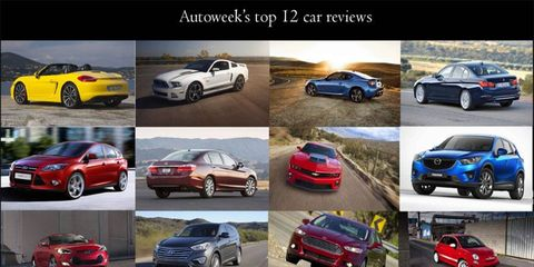 These 12 cars were our most popular reviews in 2012.