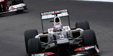 Kamui Kobayashi doesn't have a regular seat for the 2013 F1 schedule, but he maintains he'll be back in 2014.