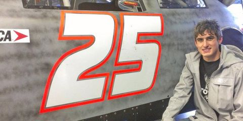 ARCA Rookie Caleb Armstrong was quickest at a three-day test session at Daytona International Speedway.
