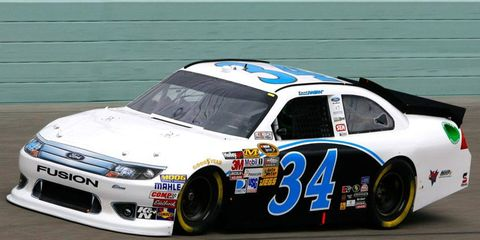 David Ragan will be part of a three-car team, along with David Gilliland and Josh Wise, at Front Row Motorsports in 2013.