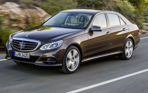 The 2014 Mercedes-Benz E-class goes on sale in spring 2013.