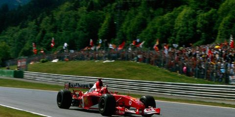 Michael Schumacher won the 2003 F1 race in Austria.