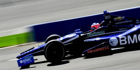Rubens Barrichello, who was hailed as a rookie in the IndyCar Series last year, is likely not coming back, do to lack of sponsorship.
