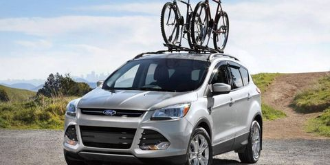 Ford recalled 90,000 copies of the 2013 Escape SUV, shown, and Fusion sedan to deal with an engine fire problem.