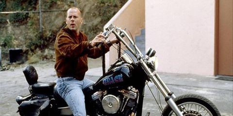 Mere mortals get a chance to own Bruce Willis's bikes. Grace not included.