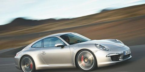 The 2012 Porsche 911 topped J.D. power's initially quality survey of 2012 models.