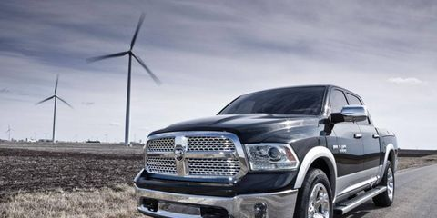 The 2013 Ram 1500 is redesigned with a 20 percent more fuel-efficient V6 engine.