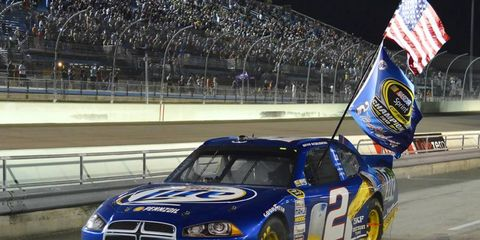 Keselowski won the Sprint Cup in 2012, capping off a remarkable year.