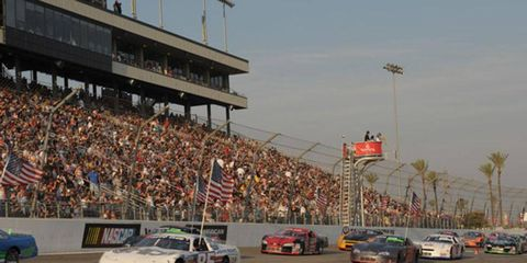 The half-mile at Irwindale (pictured) and a new track in Bakersfield will soon have race cars on them.