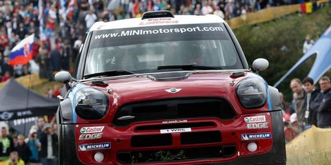 Driver Dani Sordo spent two years helping to develop Mini John Cooper Works WRC car. Prodrive is championing that car for the upcoming WRC campaign.