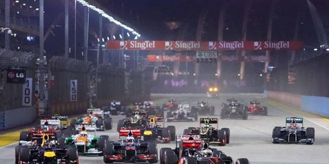 Talks are under way which could result in another night race for Formula One.