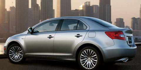 Suzuki's last batch of cars for the U.S. market will include the Kizashi.