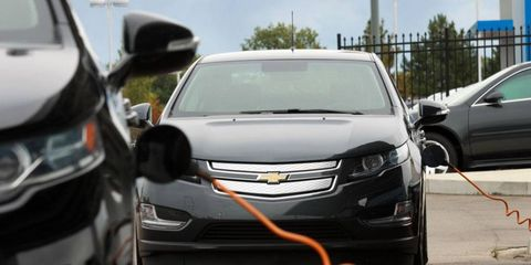 Aspects of electric or hybrid vehicles such as battery life and maintenance costs, don't play much of a role in resale