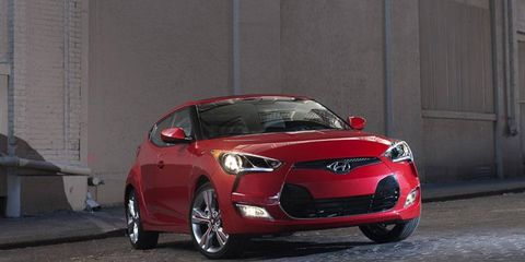 The 2012 Hyundai Veloster is being recalled for a faulty sunroof assembly.