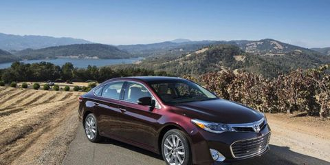 The Toyota Avalon will be one of the first cars to feature a wireless charging station.