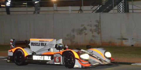 Muscle Milk Pickett Racing won the ALMS championship in 2012.