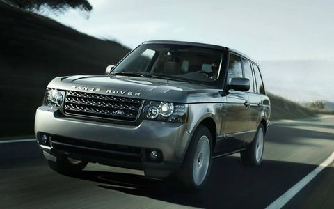The supercharged Range Rover is quick, very quick despite weighing nearly 5,900 pounds.