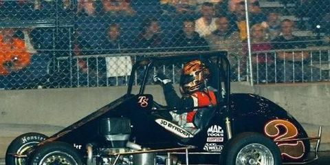 Bad luck plagued Tony Stewart in Fort Wayne, as he blew an engine and then had the brakes fail in his back up car.
