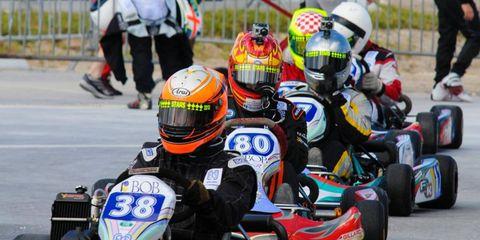 Formula Kart Stars: Senior Rotax drivers.