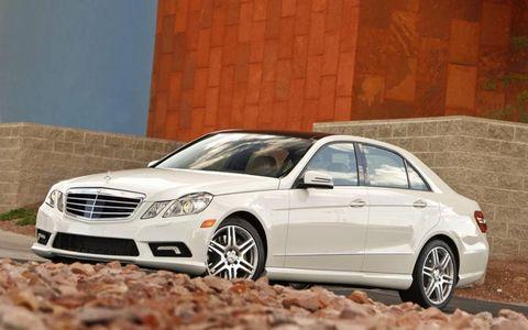 Driver's Log Gallery: 2011 Mercedes-Benz E550