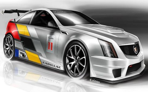 SCCA Cadillac CTS-V