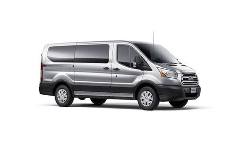 The 2014 Ford Transit is offered in wagon and van form.