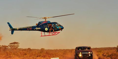 Styled after the Paris-to-Dakar rally format, the Australian Safari, though not as well known in the States, has attracted competitors from Russia, Japan, China, Brazil and a dozen other countries.
