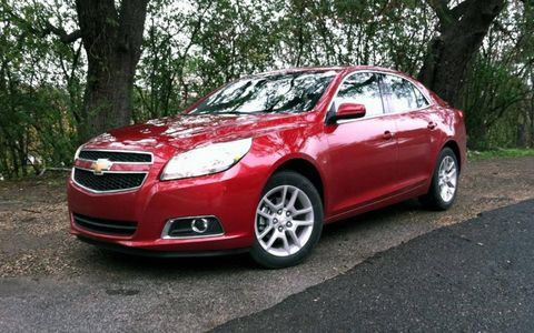 The 2013 Chevy Malibu Eco has a supremely quiet ride