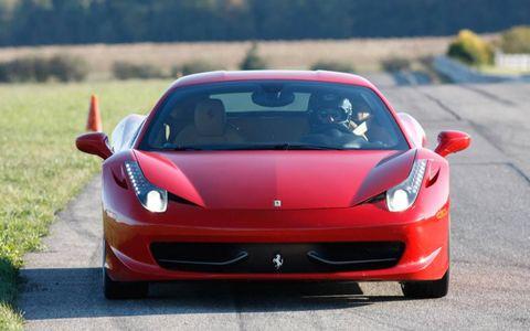Mode of transport, Automotive design, Transport, Vehicle, Red, Car, Hood, Automotive exterior, Sports car, Performance car,