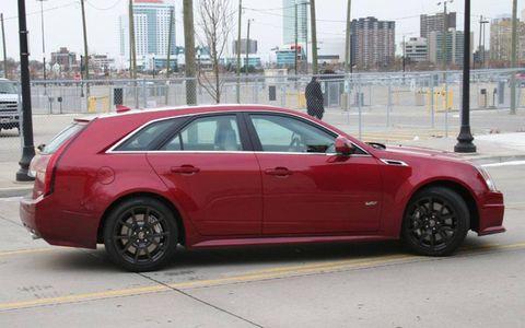 Driver's Log Gallery: 2011 Cadillac CTS-V Wagon