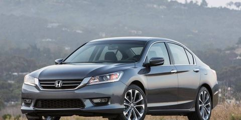 The 2013 Honda Accord Sport sedan is up against tough competition -- including the Toyota Camry, Nissan Altima and Ford Fusion -- and a redesign and series of upgrades keeps it in the fight.